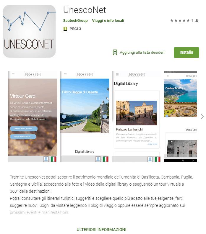 App mobile Unesconet