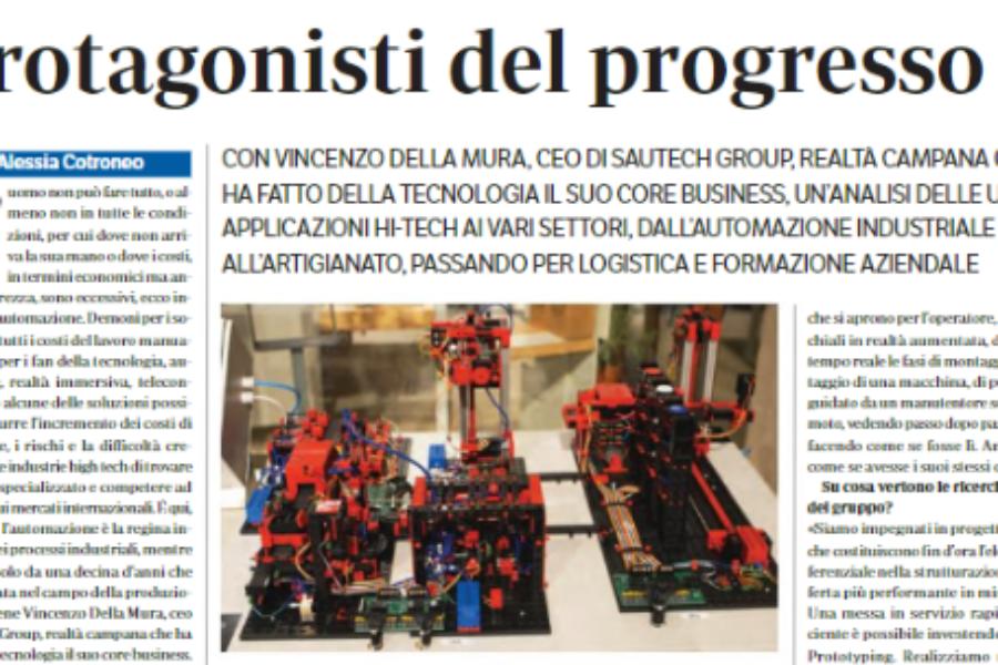 Meccanica parla di noi: un approfondimento sugli ultimi trend dell'automazione industriale
