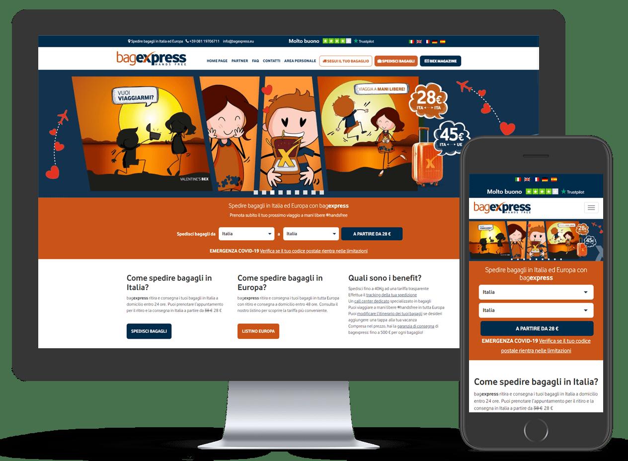Bagexpress e-commerce