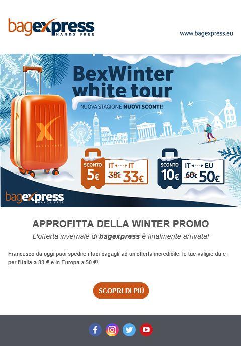 E-mail marketing bagexpress
