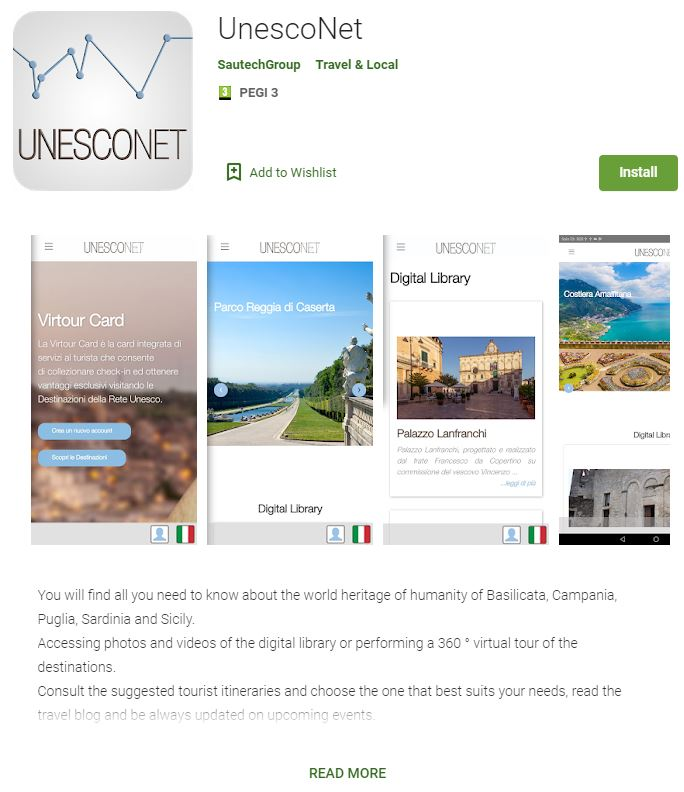 Mobile App - Unesconet