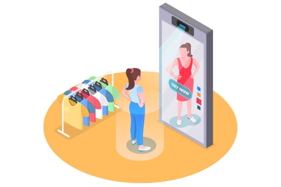 TRY IT ON: una nuova concezione del camerino virtuale